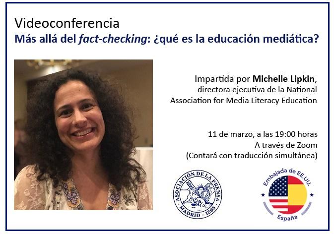 Videoconferencia gratuita sobre los retos de la educación mediática ante la desinformación