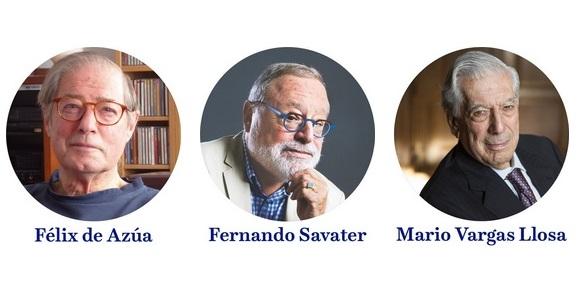 La APM celebra el 3 de mayo el coloquio 'Expresión de libertad', con Félix de Azúa, Fernando Savater y Mario Vargas Llosa