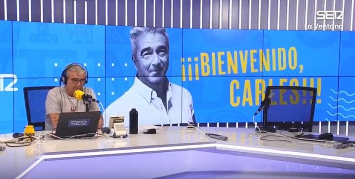 Carles Francino vuelve a 'La Ventana' tras superar el coronavirus