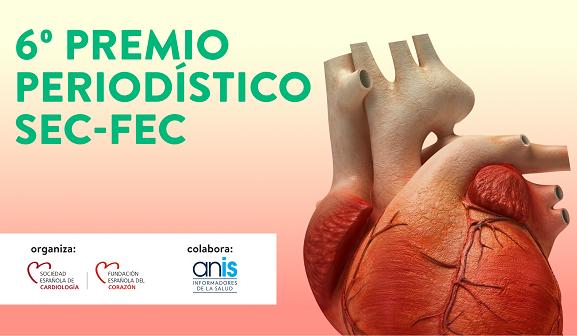 La Sociedad Española de Cardiología lanza el VI Premio Periodístico SEC-FEC
