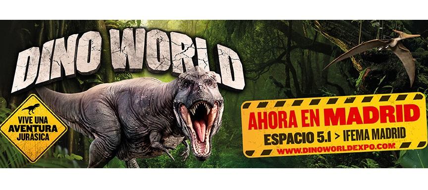 Socios APM: descuento del 20% en la exposición 'Dino World'