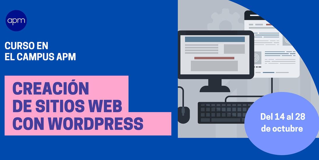 Curso online de creación de sitios web con WordPress para periodistas
