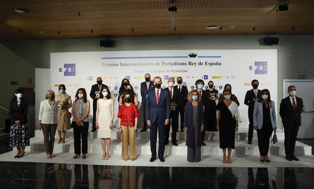 La Agencia Efe y AECID convocan los Premios Rey de España de Periodismo 2022