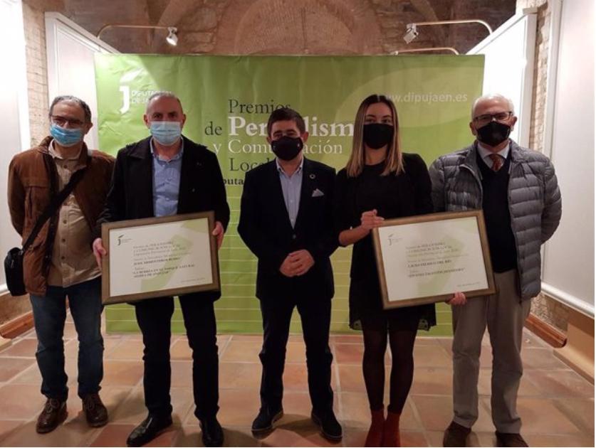 Entrega de los galardones de la Diputación de Jaén. Foto: Diputación de Jaén