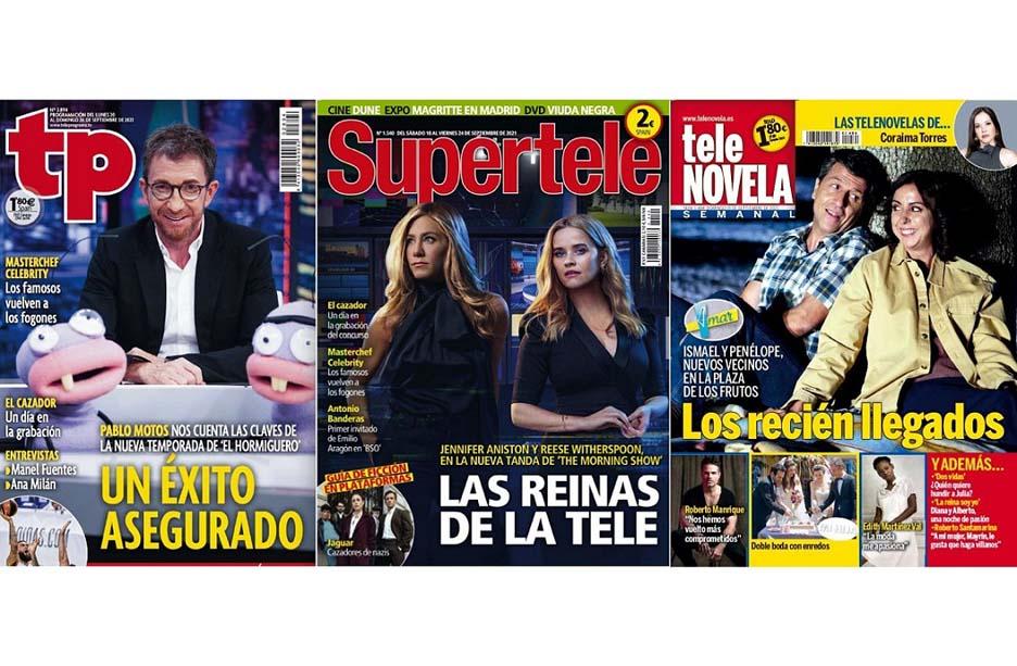 Grafic Projects 2010 publicará en papel las revistas de televisión de Hearst España
