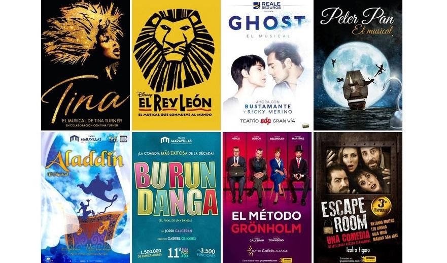 Descuentos de hasta el 30% en espectáculos musicales y teatrales en Madrid