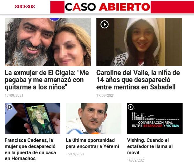 Prensa Ibérica lanza Caso Abierto, una apuesta por el periodismo de sucesos