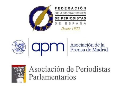 FAPE, APM y APP rechazan que los políticos decidan qué preguntas pueden hacer los periodistas