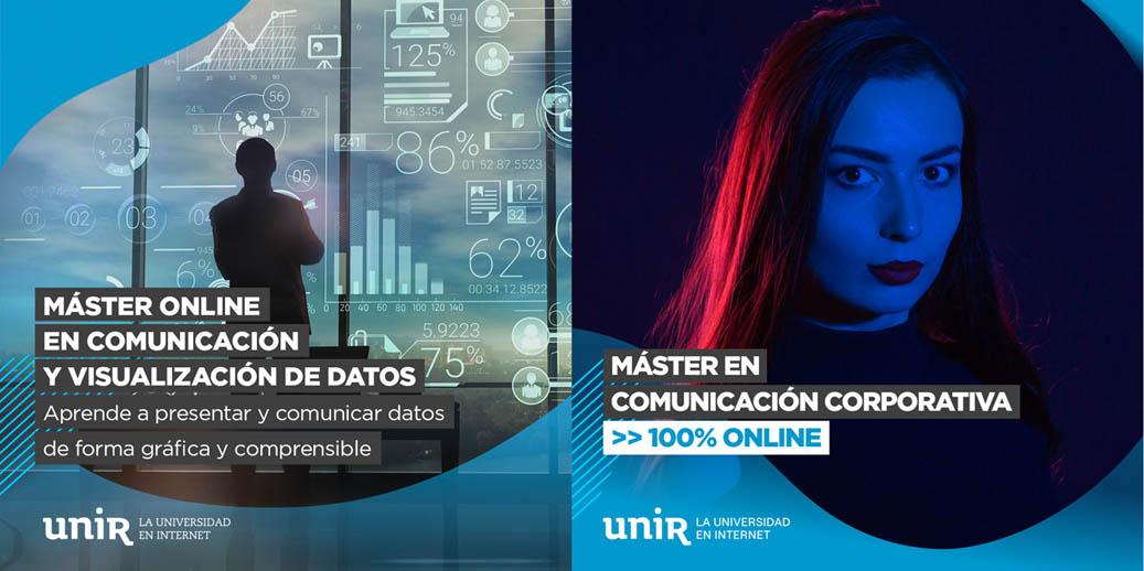 Promoción del 25% para socios APM en dos másteres en comunicación de la UNIR