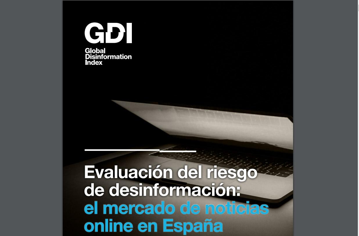 Más del 80% de los principales sitios de noticias de España tienen riesgo bajo o mínimo de desinformación