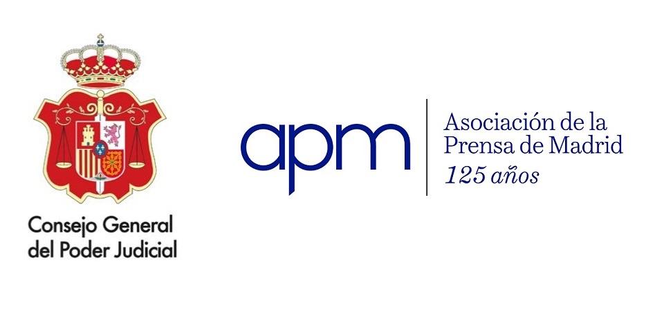 La APM y el CGPJ lanzan unas jornadas para periodistas sobre 'El sistema de Justicia en España'