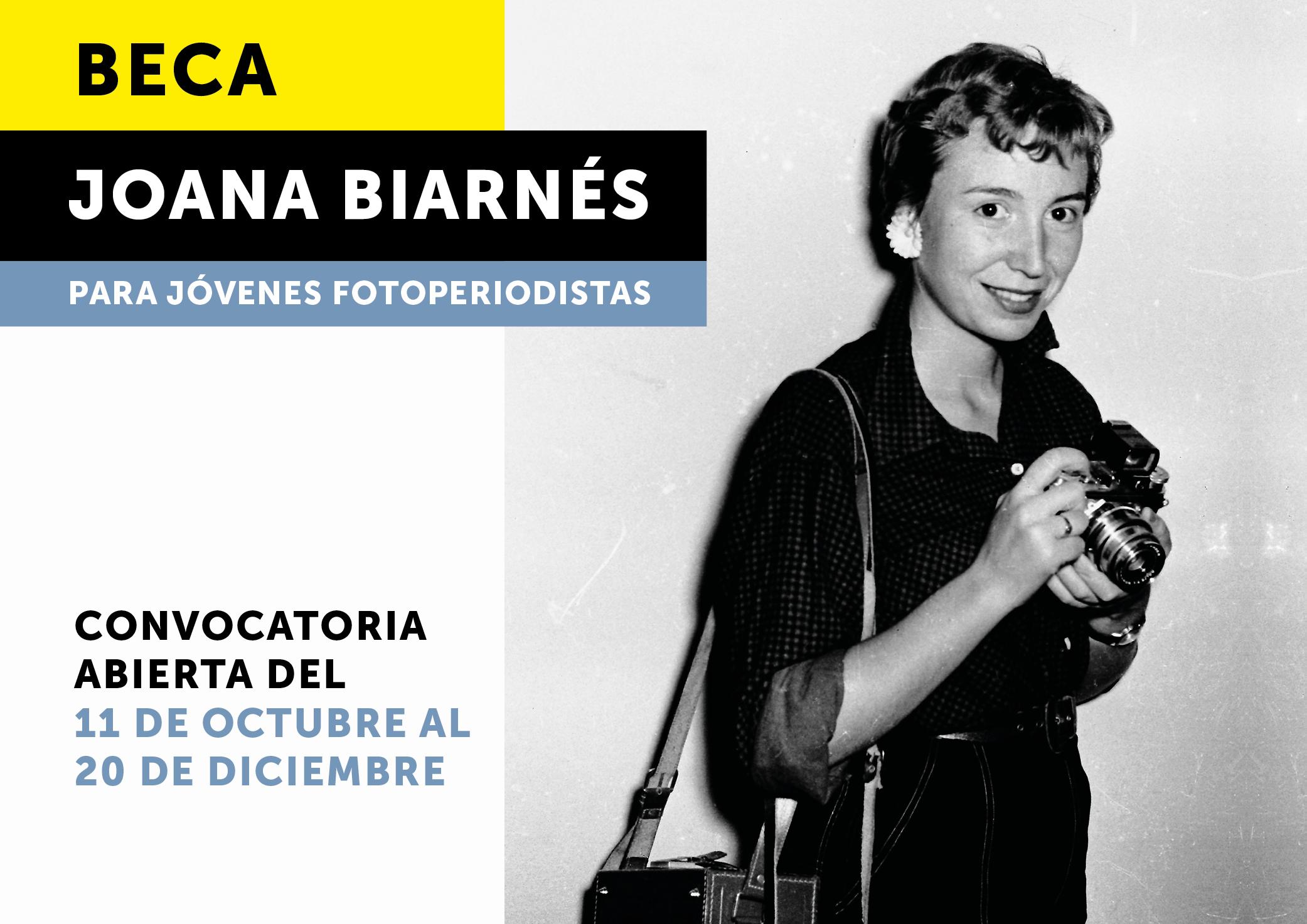 Lanzan la tercera edición de la Beca Joana Biarnés para Jóvenes Fotoperiodistas