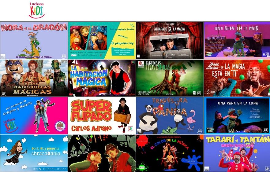 LuchanaKids, la programación infantil de Teatros Luchana