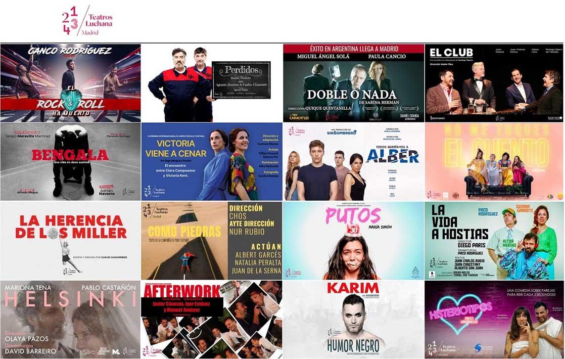Promoción del 30% para socios APM en Teatros Luchana